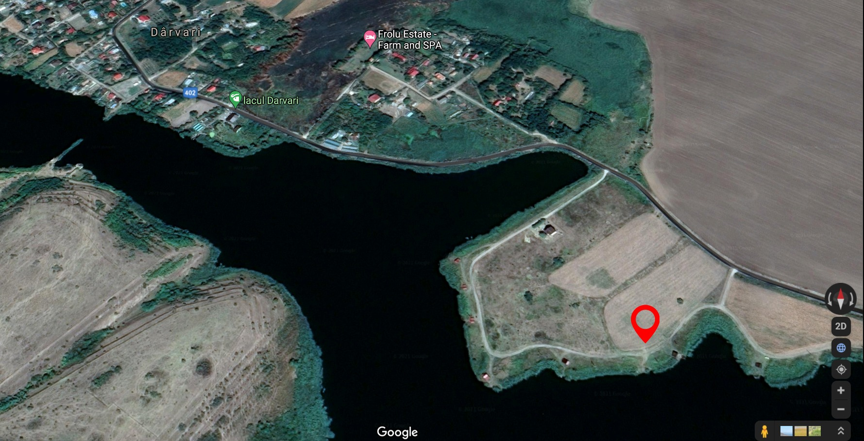 Terenul ideal 1058 mp – Lac Darvari / Fundulea